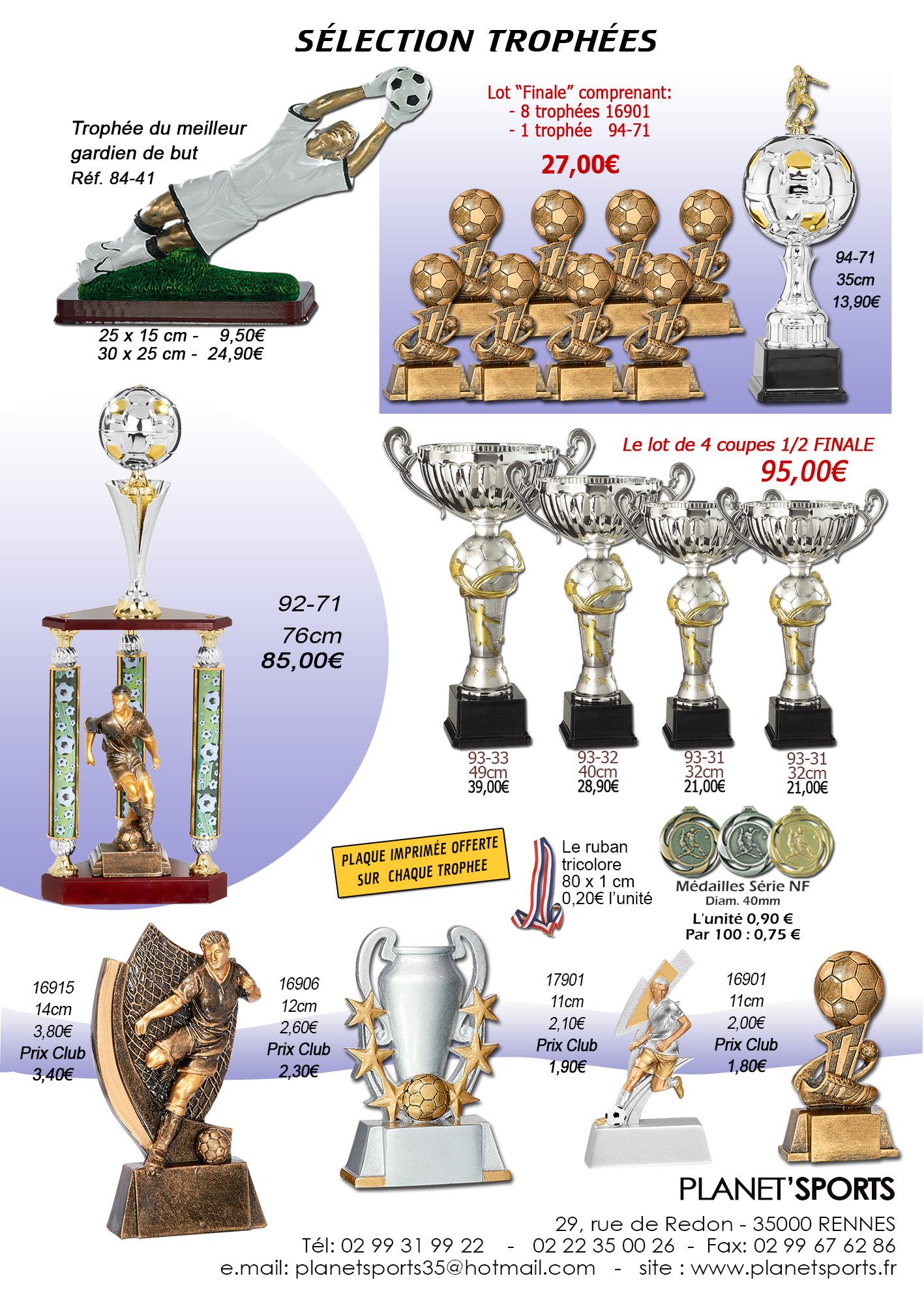 Formules tournoi trophées 2017 taille 12